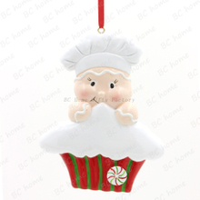 Cook With Cake Personalized Christmas Tree Ornament