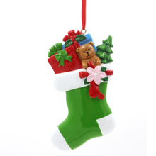Stocking Gifts Ornaments Personalized Christmas Tree Ornament