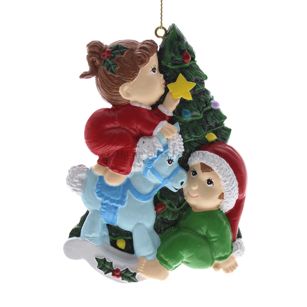 Personlized 3D Baby and Christamas Tree Ornament