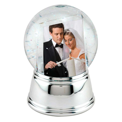 Memories picture insert Polyresin Snow globes