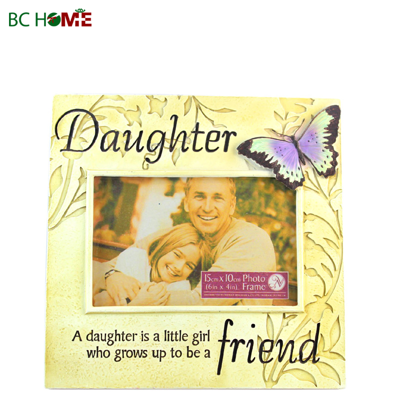 Family Resin picture frame
