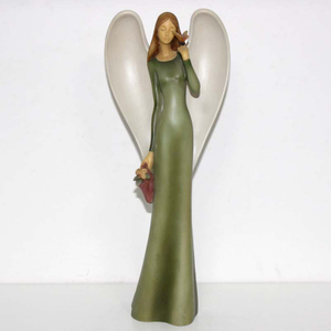 Wholesale Polyresin Home Decor Resin Fairy Figurines