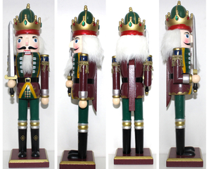 Wooden Soldiers Nutcracker,Christmas Ornaments holiday decoration1