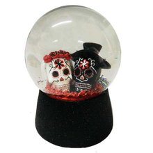 Hallowmas resin snow globe
