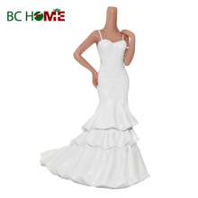 Single wedding dress bobble heads